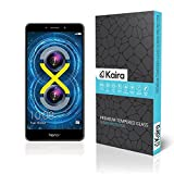 #6: Kaira 0.3mm Premium Anti Explosion Tempered Glass, 9H Hardness Ultra Clear, Anti-Scratch, Bubble Free, Anti-Fingerprints & Oil Stains Coating for Huawei Honor 6X