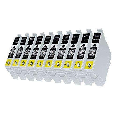 10 Druckerpatronen kompatibel für Epson T1811 für Expression Home XP-102 XP-202 XP-205 XP-30 XP-302 XP-305 XP-402 XP-405