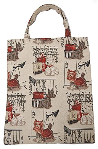 Bowatex Sac cabas sacs plastique Sac Shopper Bag Tapisserie royaltex Signare à la laisse pour chien FA