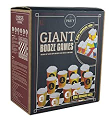 Idea Regalo - Paladone PP3550 Giant Booze Scacchi e Ludo Game