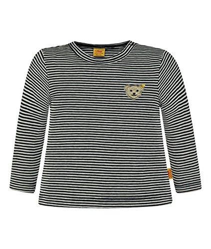 Steiff Collection Jungen T-Shirt 1/1 Arm 6832883, Blau (Marine 3032), 68 (Marine-blau-t-shirt Klassiker)