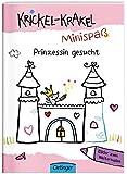 Krickel-Krakel-Minispaß: Prinzessin gesucht Bilder zum Weitermalen