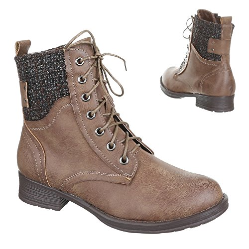 Chaussures, bottines 370A-pa Marron - Sable