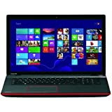Toshiba Qosmio X70-A-13E 43,9 cm (17,3 Zoll) Notebook (Intel Core i7-4700MQ, 2,4GHz, 8GB RAM, 1500GB HDD, NVIDIA GTX 770M, Blu-ray, Win 8.1) karbon