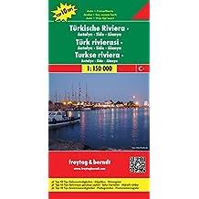Türkische Riviera-Antalya-Side-Alanya 1:150 000. Auto- und Freizeitkarte (Freytag u. Berndt Stadtpläne/Autokarten)