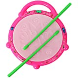 ANG Flash drum With 3D Multi Colour Light and Music For Kids