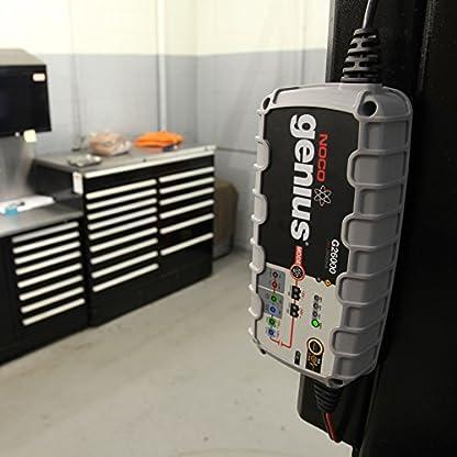 51E9EjrkrJL. SS416  - Cargador de batería Noco G26000,para todos baterías de ácido, 12V/24 V,26A