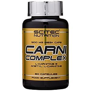 Scitec Nutrition Fat Burner Carni complex, 60 Kapseln, 1er Pack (1 x 83g)