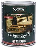 Wilckens Nordic Gartenmöbel Öl, teakfarben, 1 Liter 15110100060