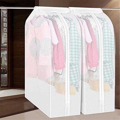 KCNCKSL Vakuumbeutel für die Speicherung von Kleidung Kleidersack Anzug Mantel Staubschutz für Stoff Kleiderschrank Aufbewahrungstasche für Kleidung L (Quadrat Bett In Einem Beutel)