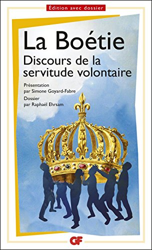 Discours de la servitude volontaire (Prépas scientifiques 2016-2017)