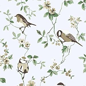 borastapeter falsterbo 1435 papier peint motif oiseaux et. Black Bedroom Furniture Sets. Home Design Ideas