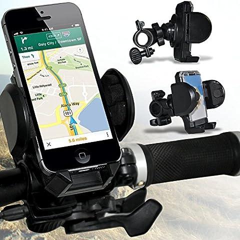 ( Black ) Blackberry Curve 8530 Holder Supporto Bicicletta Bike Mount basamento della culla del manubrio Supporto rotazione di 360 gradi da Spyrox