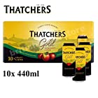Thatchers Refreshing Medium Dry Somerset Cider, 10 x 440ml