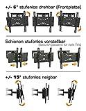 RICOO Wandhalterung TV Schwenkbar Neigbar R23 Universal LCD Wandhalter Ausziehbar Fernseher Halterung Curved 4K OLED QLED LED Flachbildfernseher 80cm/32