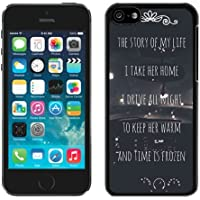 DIY,Personalized iPhone 5C Case Design with One Direction Harry Styles Niall Horan Story Of My Life Lyrics Car in Black