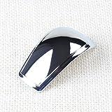 ABS cromo en la perilla del cambio de engranaje de la cubierta Trimpour para Ford Focus RS MK2