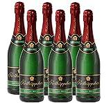 Rotkäppchen Sekt Flaschengärung Riesling trocken 6er Set – Premiumsekt deutscher Weine – perfekt zum Anstoßen