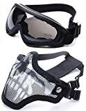 Best Paintball Masks - 2 in 1 Protection Steel Mesh Face Mask Review