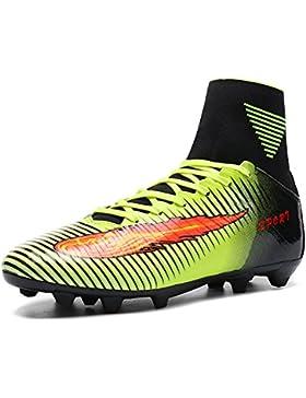 Hombres FG Fútbol Zapatos de Entrenamiento de Zapatos de Encaje hasta el Deporte