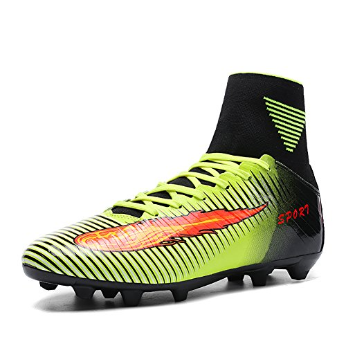 ASHION Football Boots Sneakers Professional Outdoor Soccer Shoes Teenagers Training Shoe Test