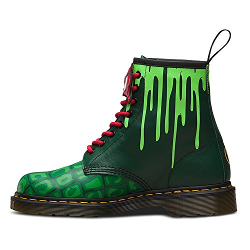 Dr.Martens Womens Raph 1460 8-Eyelet Leather Boots Vert