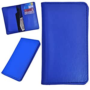 DCR Pu Leather case cover for Lenovo S960 (blue)