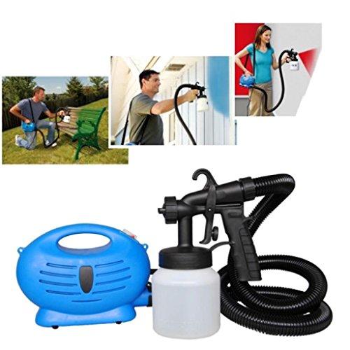 new-electric-paint-sprayer-fence-spray-gun-diy-tool-painting-indoor-outdoor-uk