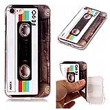 Coffeetreehouse [Coque iphone 7 Silicone] Motif soft coloré de imprimé mince TPU...