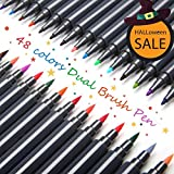 ARTISTORE Rotuladores de Doble Punta Pluma de Agua de 48 Colores