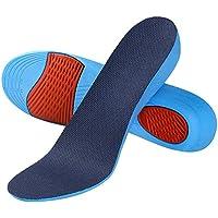 SOUMIT Erhöhung Höhe Einlegesohle | Weich Memory Schaum Schuheinlagen mit Dämpfende Silikon-Gel Sohlen für Alltag Beruf und Schützt Ihre Füße (S EU35-40, Erhöhen3,6CM)