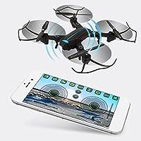 Hanbaili Drone Quadcopter mejorado de control remoto A6 Equipado con cámara gran angular de 2 megapíxeles, retorno de una tecla, drones de aguante de altitud con modo sin cabeza para adolescentes