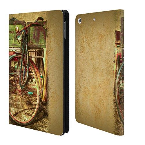 Preisvergleich Produktbild Offizielle Celebrate Life Gallery Ol' Rusty Fahrrad Brieftasche Handyhülle aus Leder für Apple iPad mini 4