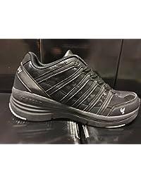 scarpa sportiva donna freddy 6cm-Cushy NOSA Nera satinata (37)