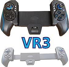 VR3 AZUL Bluetooth GamePad Controlador de juego para Smartphone Tablet PC como Samsung Galaxy Tab S2/Galaxy S6 EDGE/Note 6 5 4 / iPad Mini / iPhone 6S 7 / MediaPad engranaje VR Google iOS Windows