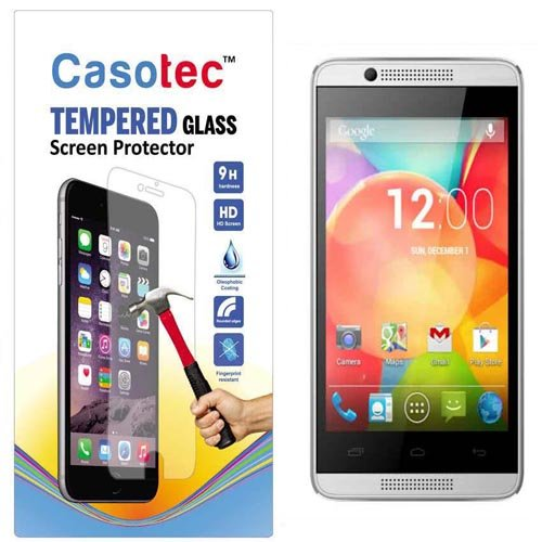 Casotec Tempered Glass Screen Protector for Intex Aqua 3G Pro  available at amazon for Rs.125