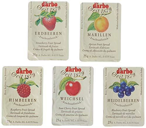 D'Arbo Fruchtaufstrich 100 Portionen - Mix Sortiment, 1er Pack (1 x 2.5 kg)