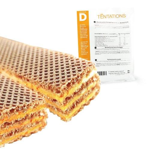 Minceur D - Snack salé Pizza hyperprotéiné - Pochette de 7 sachets MinceurD