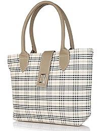 Bags Villa Smart And Classy Burberry Checks Handbag For Women