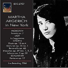 Martha Argerich in New York