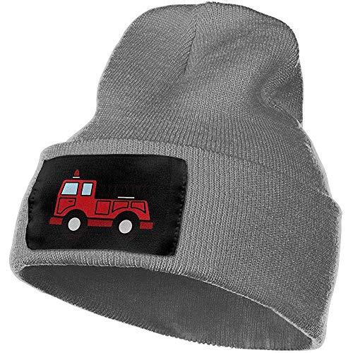 Dora Will Camion de Pompiers Casquette de Ski de Bande dessinée Hommes Femmes tricotant des Chapeaux Bonnet élastique et Doux