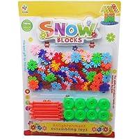 Aimitoysidy 3,3 cm Schnee Gurtwelle Bausteine 133 Stück preisvergleich bei kleinkindspielzeugpreise.eu