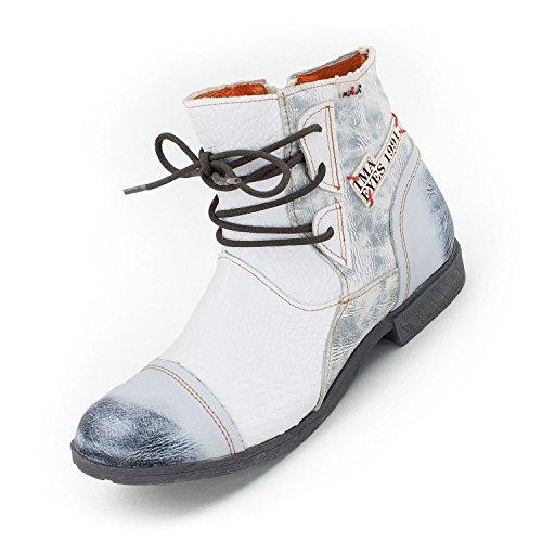 TMA Damen Booties, Schneeweiß - 39