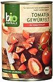 biozentrale Tomaten gewürfelt, 6er Pack (6 x 400 g)