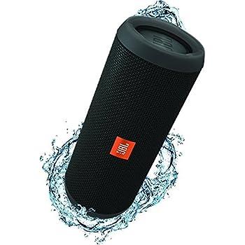 JBL Flip 3 Altoparlante Bluetooth Portatile, Ricaribile, Microfono per Chiamate in Vivavoce, Compatibile con Smartphone, Tablet e Dispositivi MP3, JBL Connect, Nero