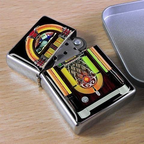 Juke Box, Acetone Feuerzeug, in Geschenkbox