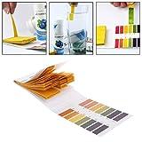 Autone 80pz test Paper 1-14PH soluzione strisce tornasole Tool kit indicatore acquario stagno