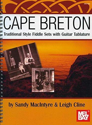 Macintyre/Cline Cape Breton Traditional Style Fiddle Sets Violin Book Bay Cape