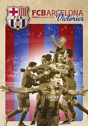 Barcelona FC Victories Calendar Calendar 2017 2018 Calendars Soccer Calendar FC Barcelona 12 Month Calendar Dream por MegaCalendars