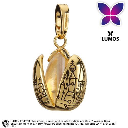 Noble Collection Lumos Charm 17 Golden Egg - Games Egg Golden